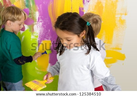 Little dirty painters