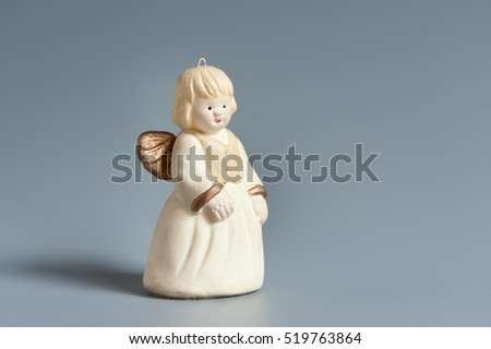 Little figure of a christmas angel decoration