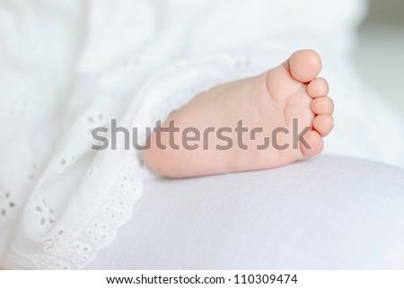 Little foot - stock photo