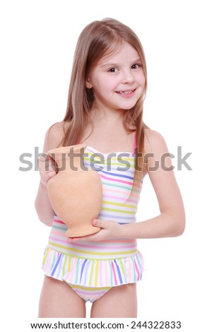 Girl Swimsuit Stock Images, Royalty-Free Images & Vectors ...