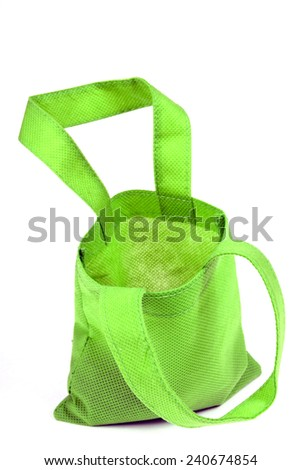 Little Green Shopping Bag Opened/ Little Bit Of Shopping