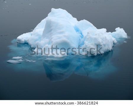 Little ice berg in Antarctica, South Pole - stock photo
