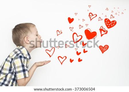 flying kiss kid
