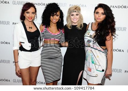 Little Mix arriving for the Glamour Women Of The Year Awards 2012, at Berkeley Square, London. 29/05/2012 Picture by: Steve Vas / Featureflash - stock photo