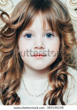 little princess portrait - stock photo