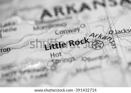 Little Rock. Arkansas. USA - stock photo
