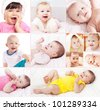 little smile baby - stock photo