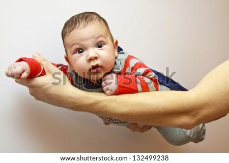 Little superhero - stock photo