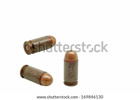 Live ammunition - stock photo