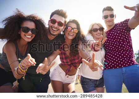 Live for such moments as these - stock photo