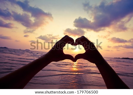 live your dream, love concept - stock photo