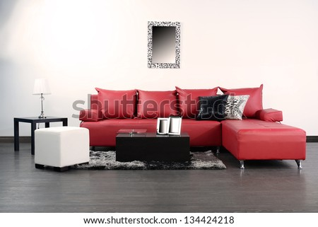 Living room. - stock photo