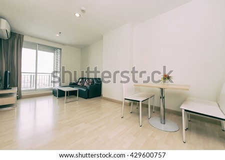 living room of a modern apartment