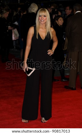 Liz McLarnon arriving for the UK premiere of 'Michael Jackon The Life of an Icon', Empire Leicester Square London. 02/11/2011 Picture by:  Simon Burchell / Featureflash