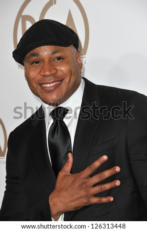 LL Cool J at the 2013 Producers Guild Awards at the Beverly Hilton Hotel. January 26, 2013  Los Angeles, CA Picture: Paul Smith