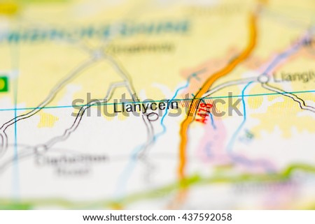 Llanycefn. United Kingdom