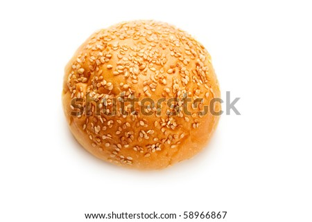 Loaf isolated on the white background - stock photo