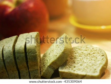 Loaf of Whole Grain Bread - stock photo