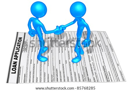 Loan Application Handshake