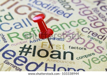 Loan concept - stock photo