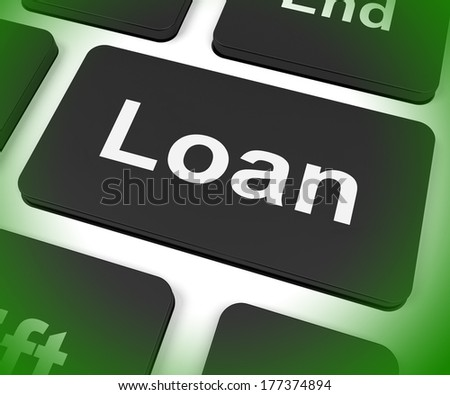 Loan Key Meaning Lending Or Providing Advance