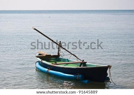Local fishing boat in Thailand