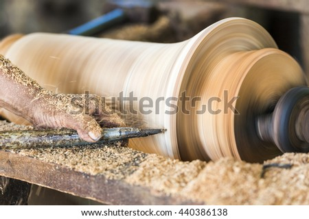 Local wood lathe