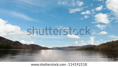 Loch Katrine, Scotland - stock photo