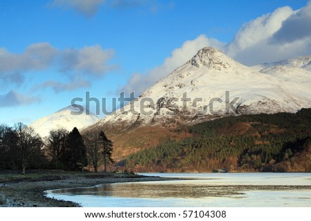 Loch Leven and the Pap of Glencoe.