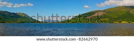 Loch Leven ,Scotland - stock photo