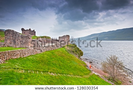 Loch ness - stock photo