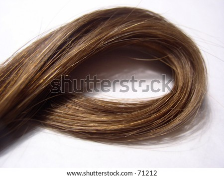 lock of hair