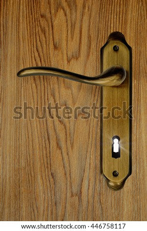 Lock the door, keyhole with light coming from it