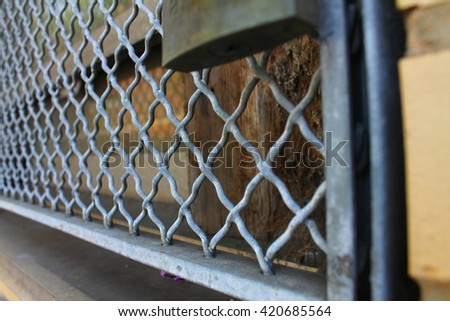 Locked Fence