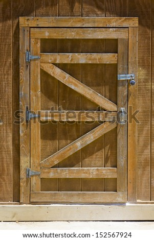 Сарай из дверей своими руками