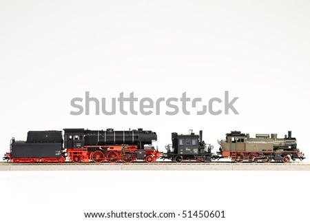 Locomotives - stock photo