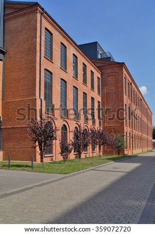 Loft Aparts - Architecture of the city of Lodz,Poland, - Revitalized buildings