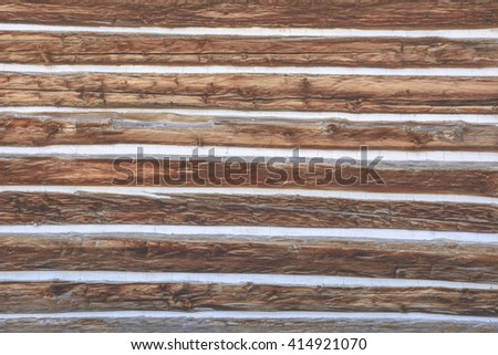 log house wall background