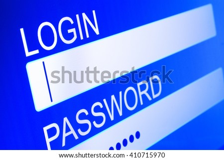 login to access restricted area