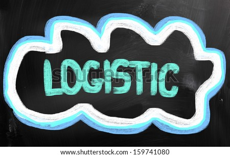 Logistic Concept - stock photo