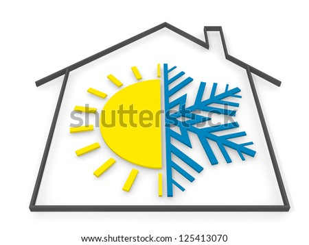logo design - 3d render - stock photo
