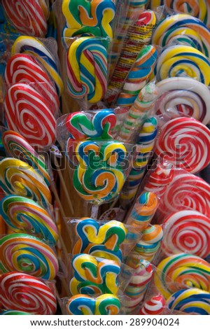 Lollipops - stock photo