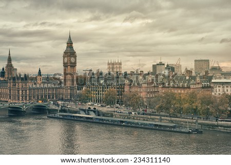 london - stock photo