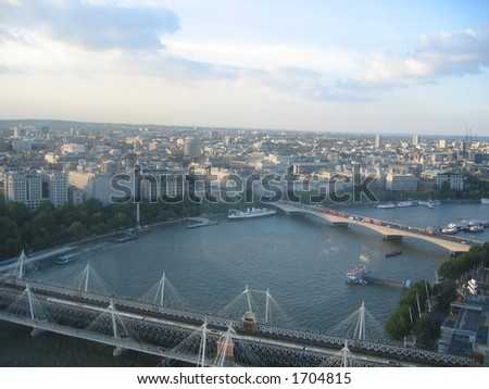 London City from the London Eye
