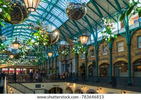 LONDON DECEMBER 28 2017 Apple Market Stock Photo (Royalty Free ...