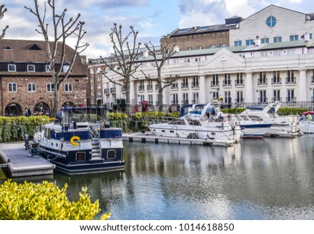 stock-photo-london-england-april-yachts-