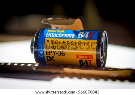 Kodak 5248 film stock