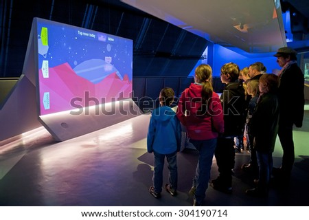 LONDON, ENGLAND - MAY 31: Science Museum in London on May 31, 2015 in London