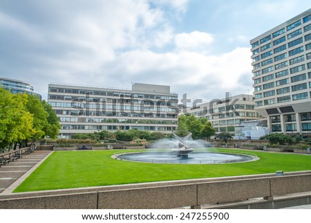 London Hospital. - stock photo