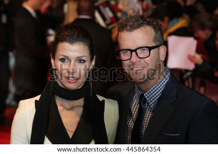 LONDON - JAN 30, 2012: Bridget Moynahan and Joseph McGinty arrives for the This Means War - UK Premiere on Jan 30, 2012 in London